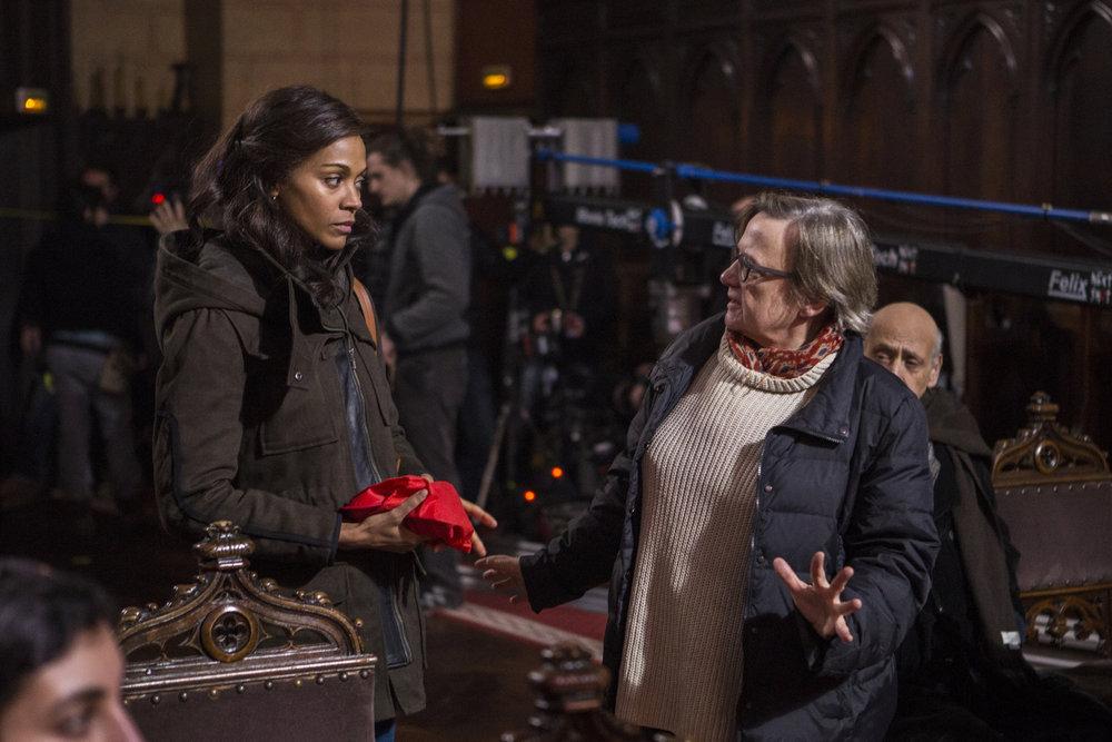 Rosemary's Baby: Zoe Saldana e Agnieszka Holland sul set