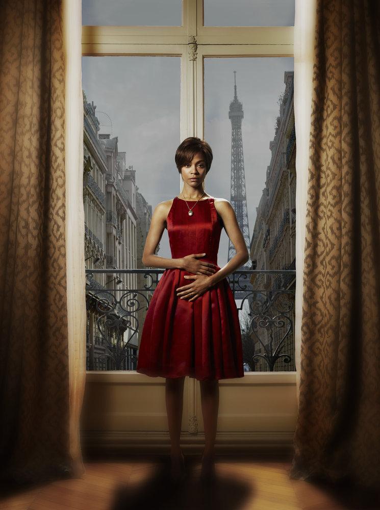 Rosemary's Baby: la bella Zoe Saldana in un'immagine promozionale