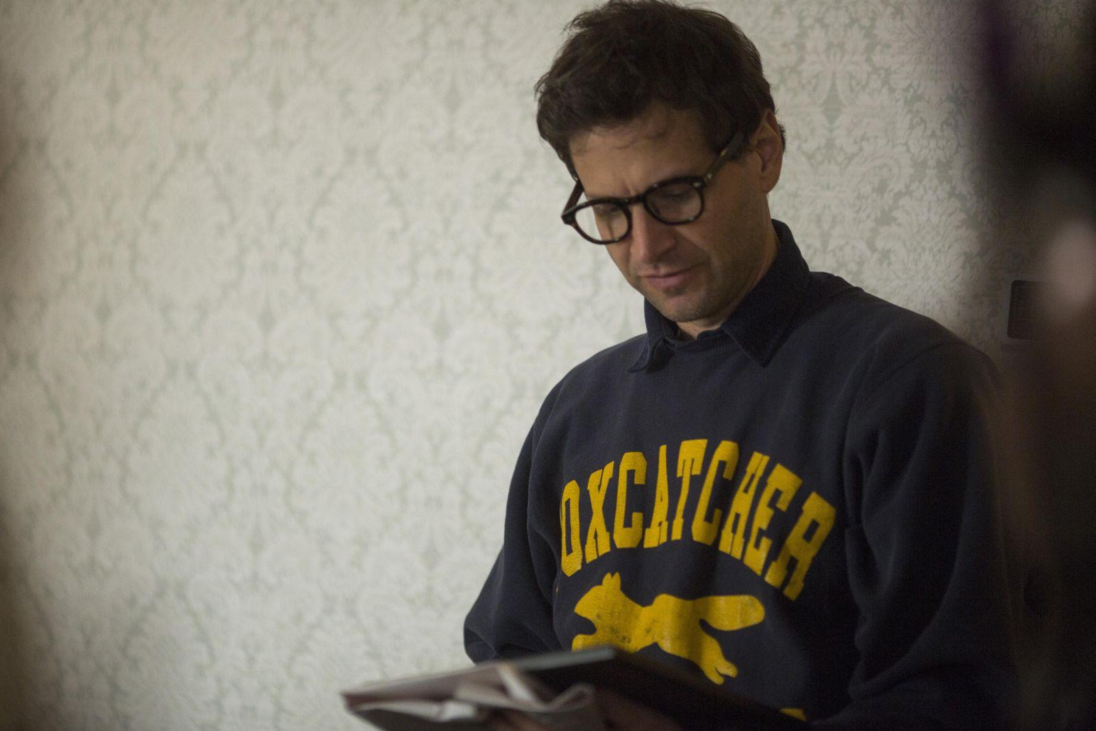Foxcatcher: il regista Bennett Miller in una foto dal set