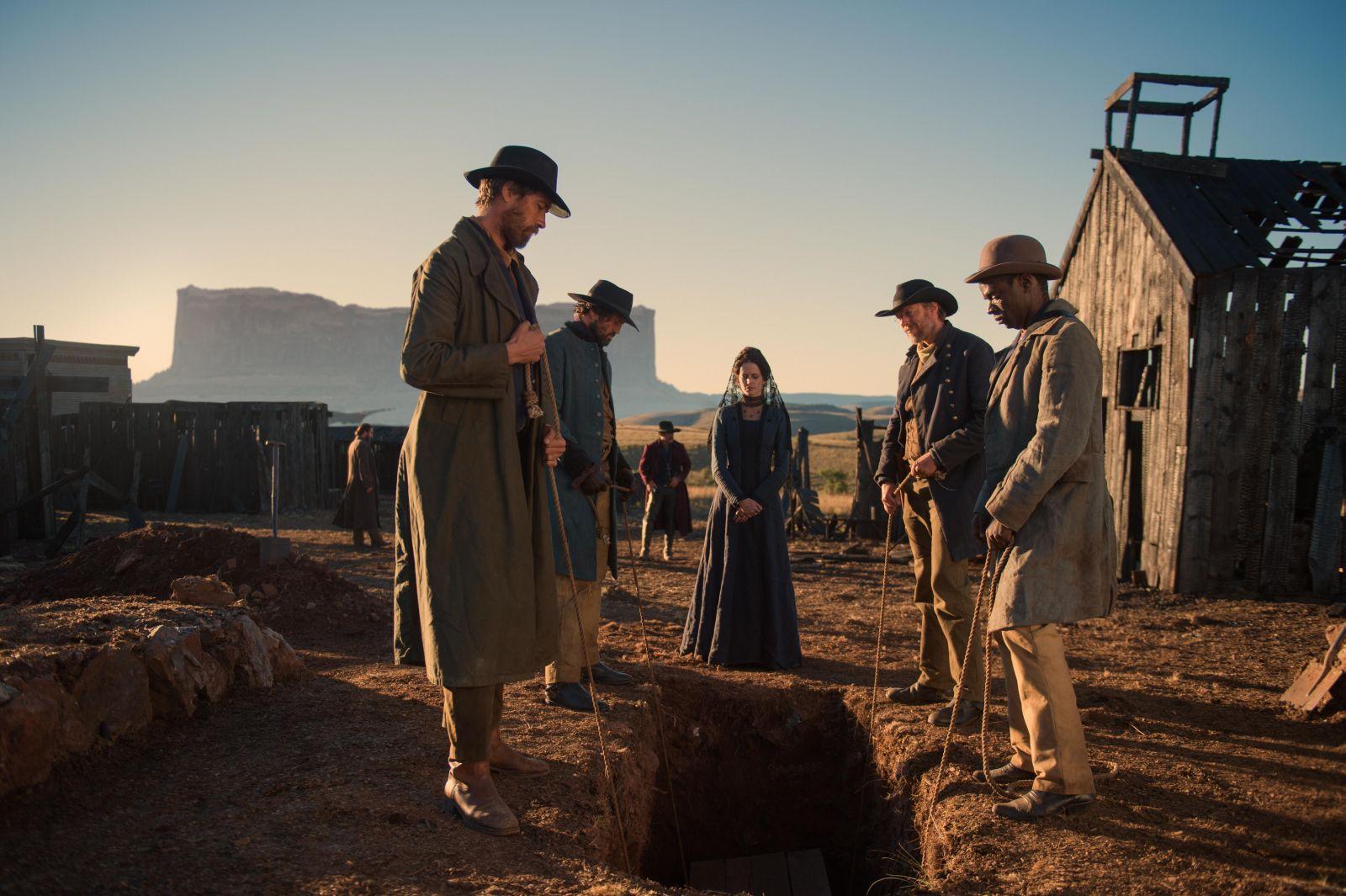 The Salvation: Eva Green in una scena del film