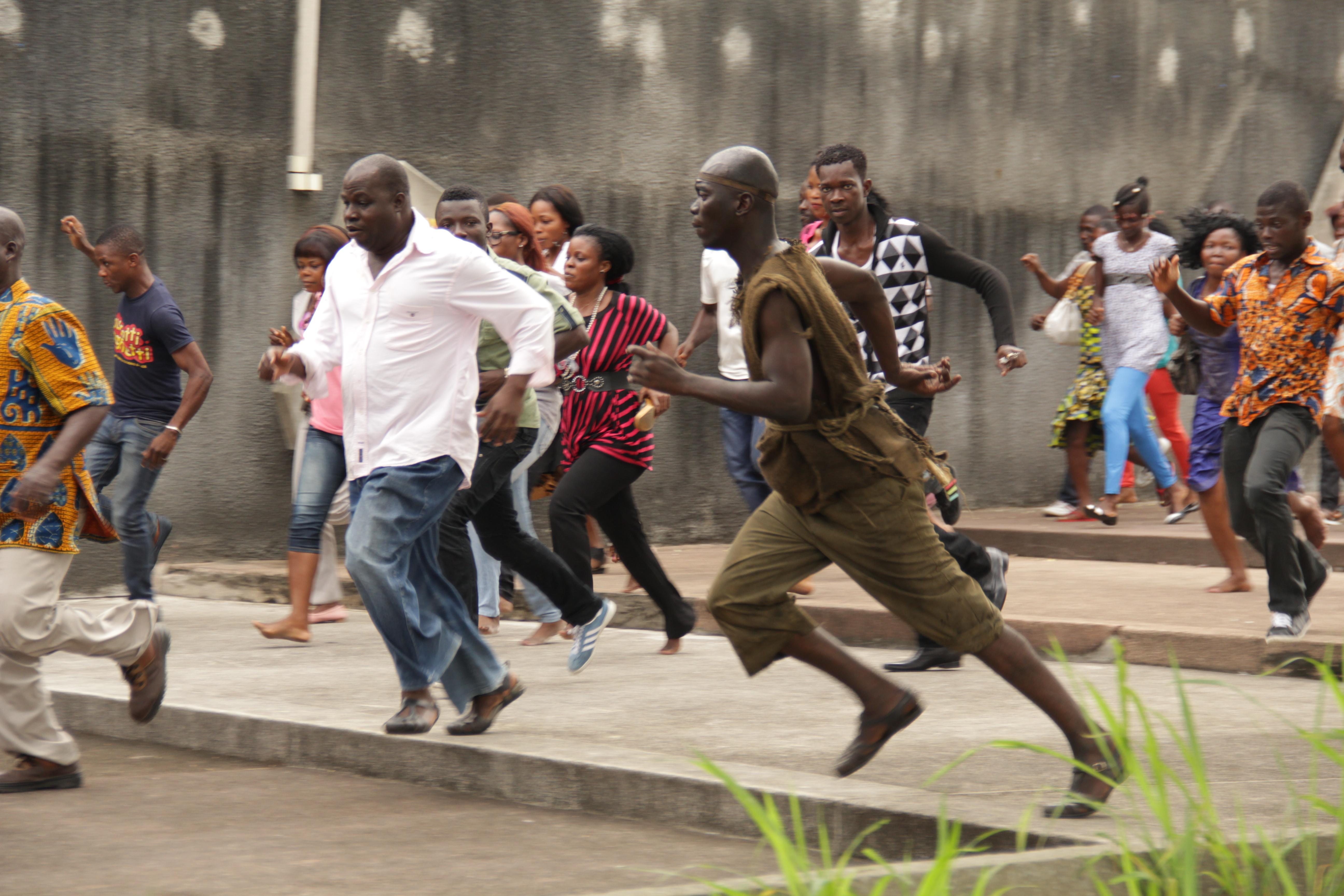 Run: una scena del film