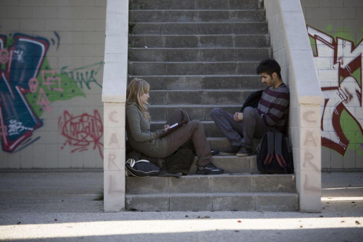 Hermosa juventud: Ingrid García Jonsson in una scena del film con Carlos Rodriguez