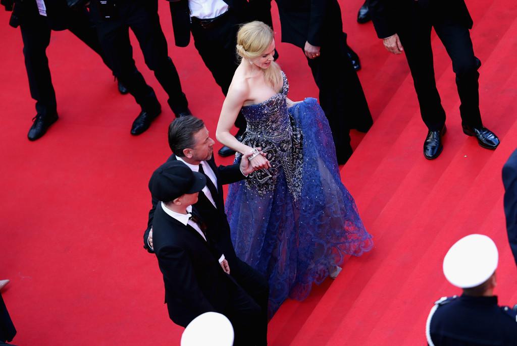 Nicole Kidman e Tim Roth a Cannes 2014 presentano Grace di Monaco. Eccoli sul red carpet con Olivier Dahan