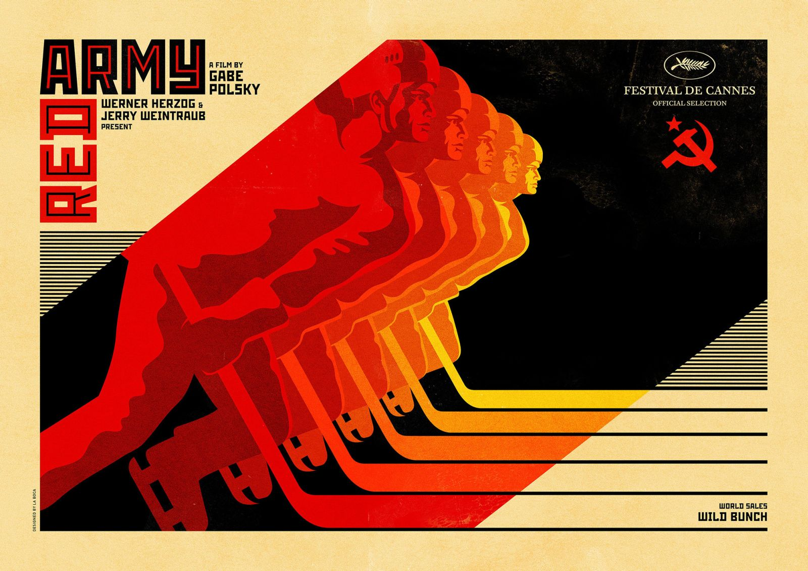 Red Army: il poster orizzontale