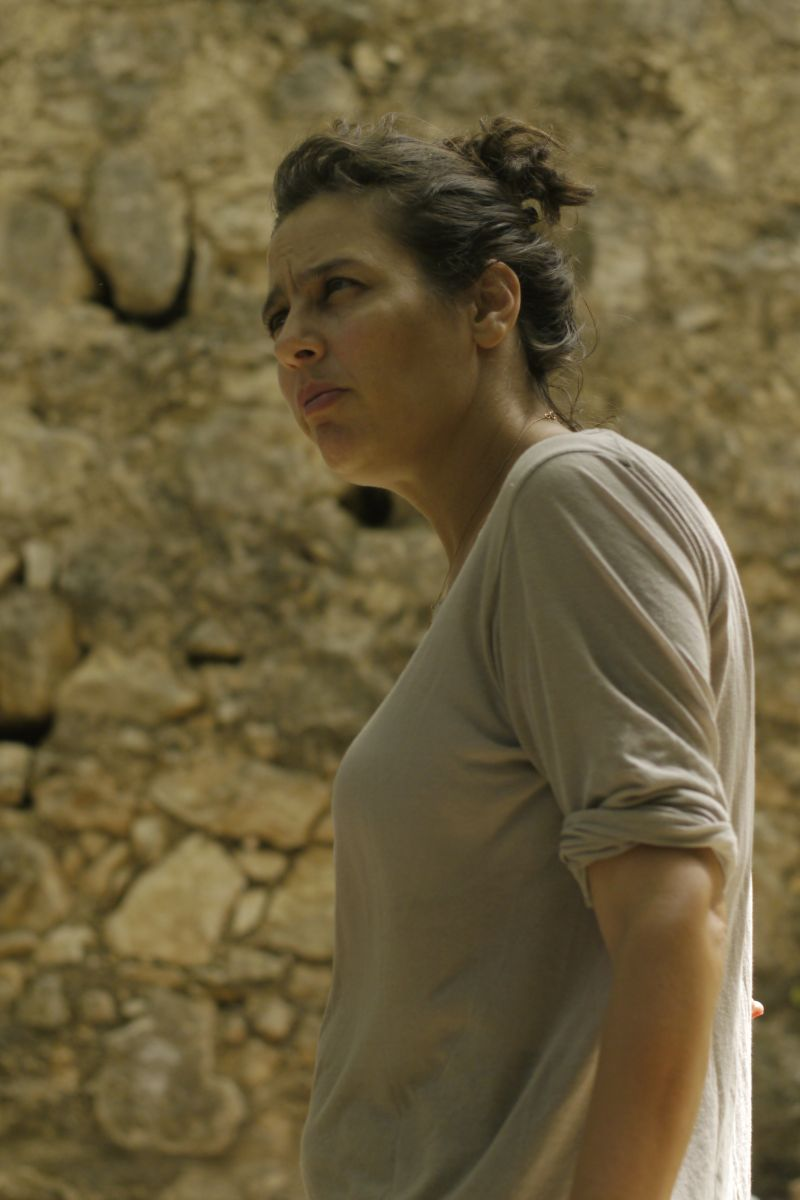 Self Made: la regista Shira Geffen sul set