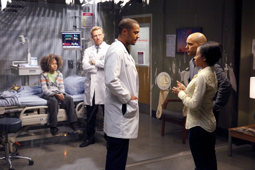 Grey's Anatomy: Jesse Williams in Everything I Try to Do, Nothing Seems to Turn Out Right