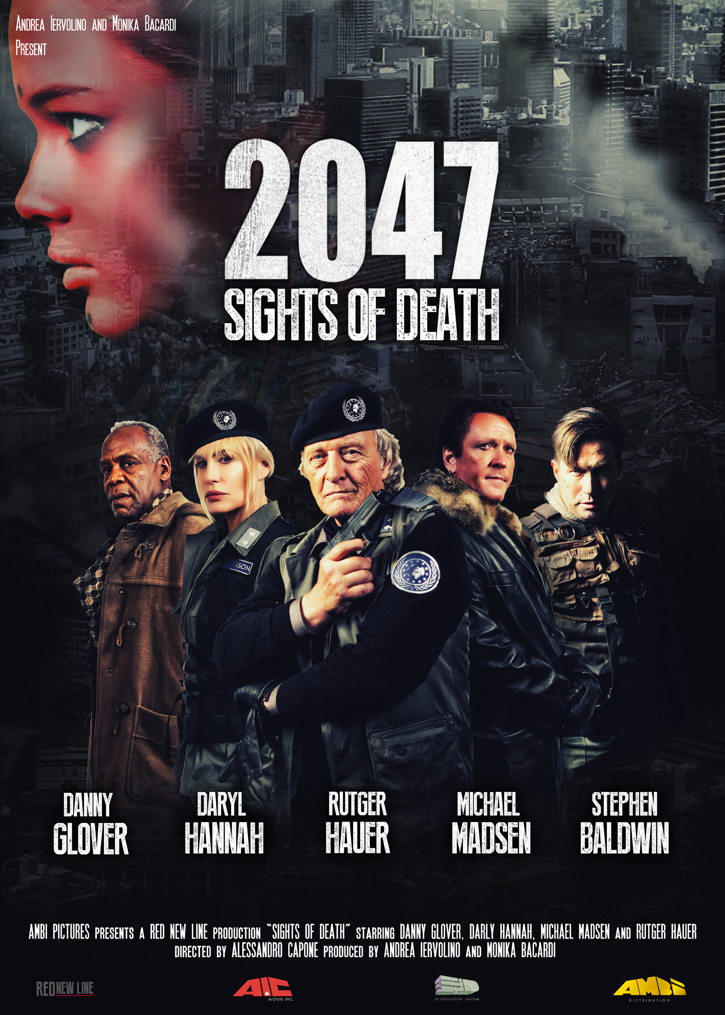 2047 - Sights of Death: il poster ufficiale