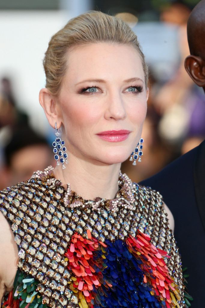 Cate Blanchett presenta Dragon Trainer 2 sul tappeto rosso di Cannes 2014