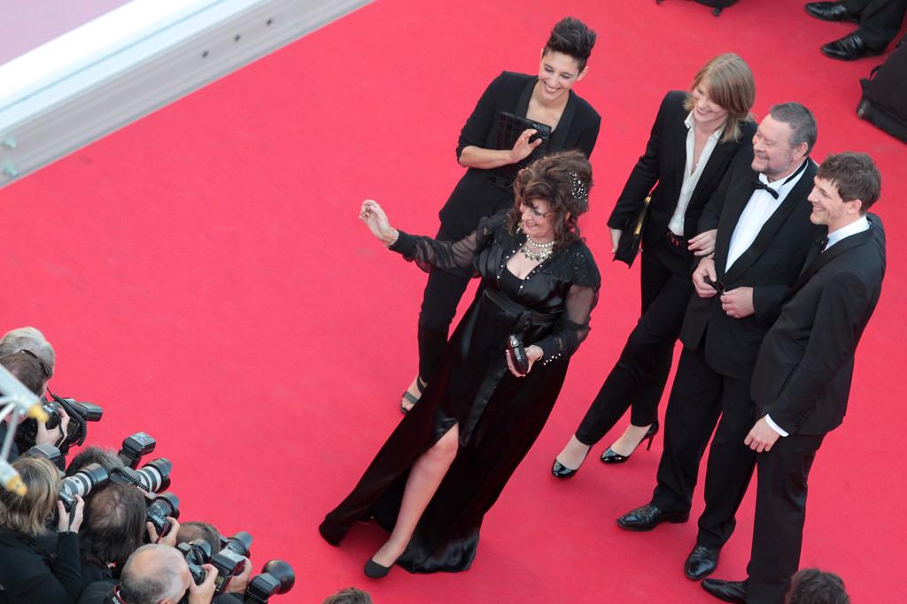 Cannes 2014, il cast di Party Girl sul red carpet