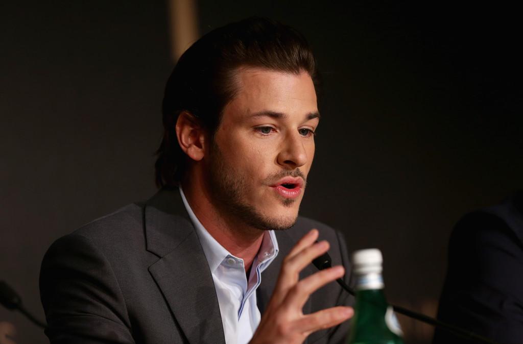 Gaspard Ulliel presenta Saint Laurent al Festival di Cannes nel 2014