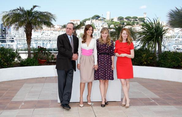 Cannes 2014: Tommy Lee Jones, Hilary Swank, Miranda Otto e Sonja Richter per il photocall di The Homesman