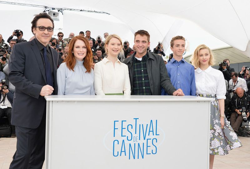 Maps to the Stars: il cast del film osa durante il photocall a Cannes 2014