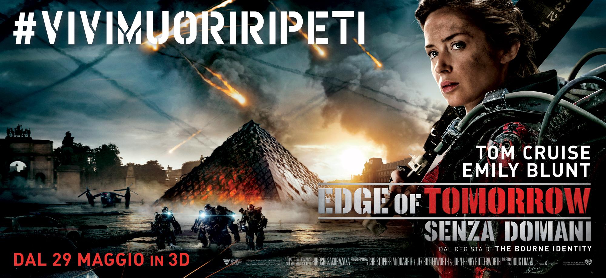 Edge of Tomorrow - Senza domani: Emily Blunt nel character poster orizzontale a lei dedicato