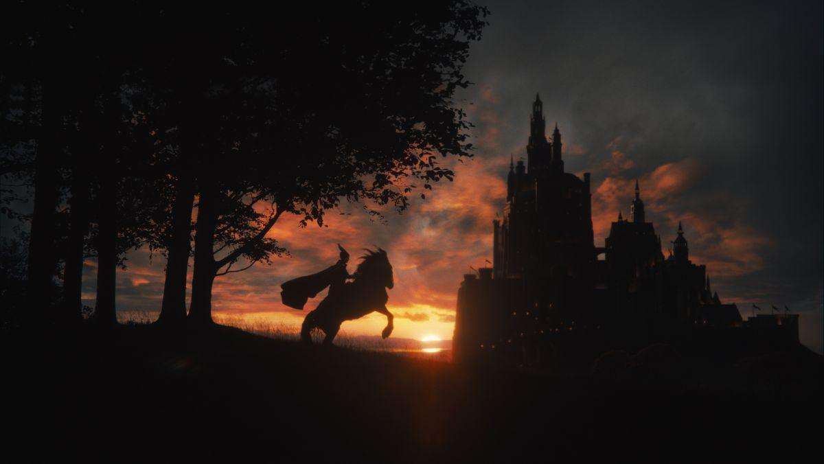 Maleficent: una scena al tramonto