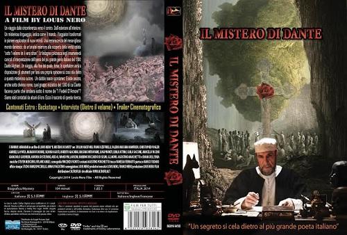 La fascetta del DVD de Il mistero di Dante
