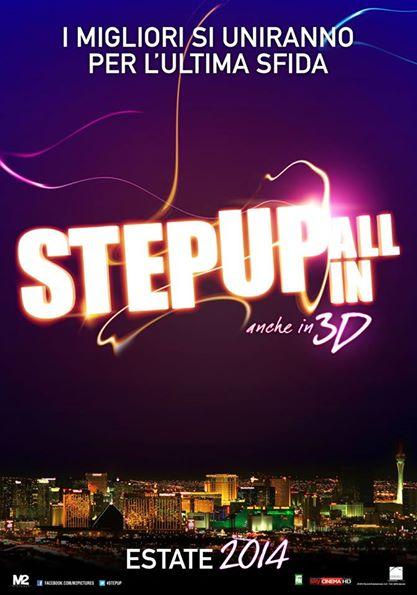 Ste Up: All In, il teaser poster italiano del film