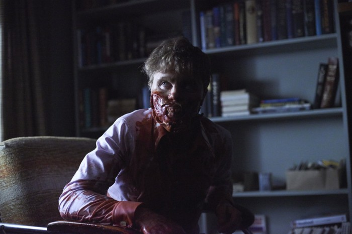 Hannibal: Michael Pitt in una scena gore dell'episodio Tome-wan