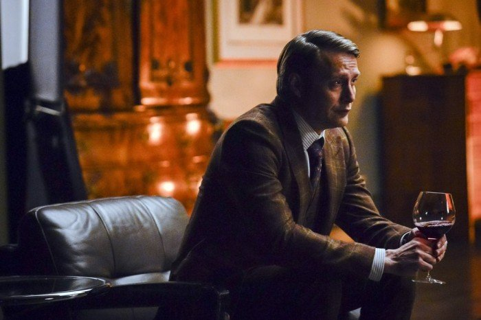 Hannibal: Mads Mikkelsen in un momento dell'episodio Tome-wan