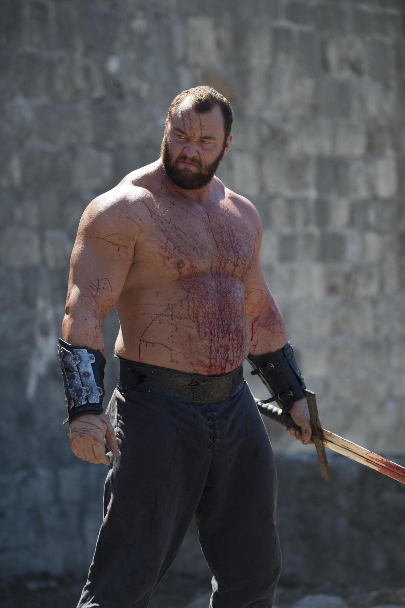 Il trono di spade: Hafþór Júlíus Björnsson nell'episodio Mockingbird