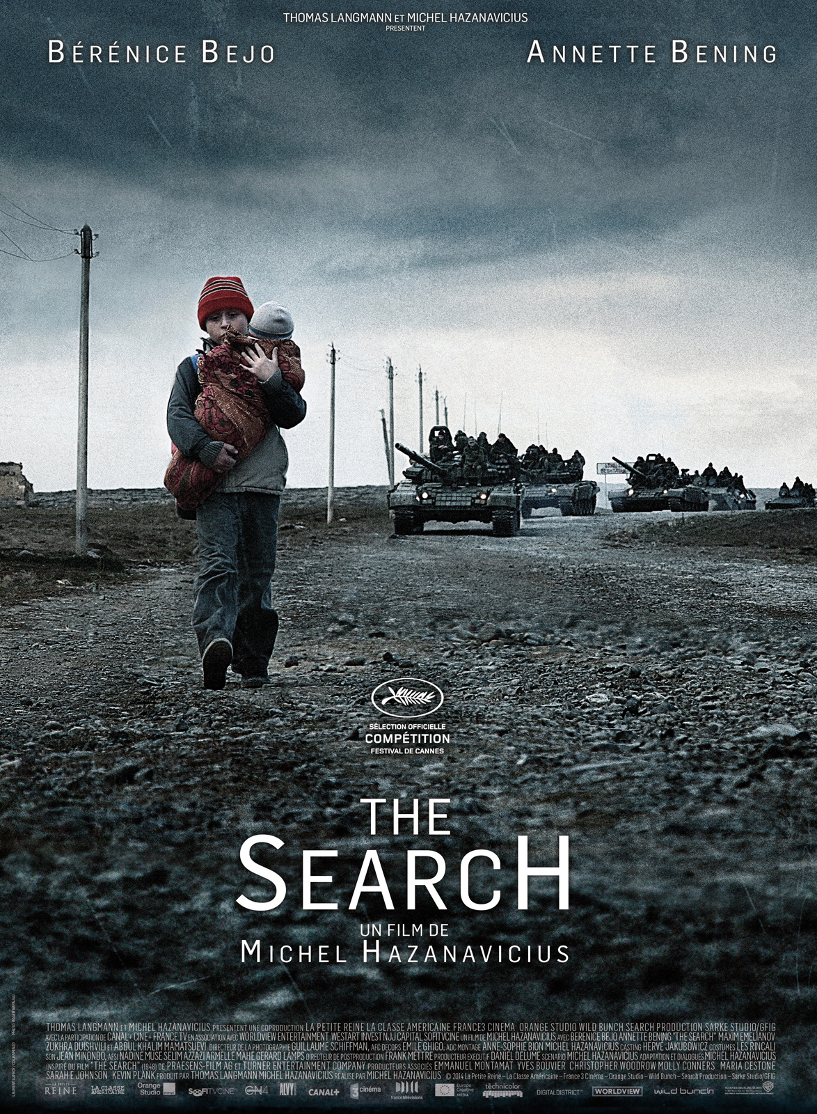 The search: la locandina del film