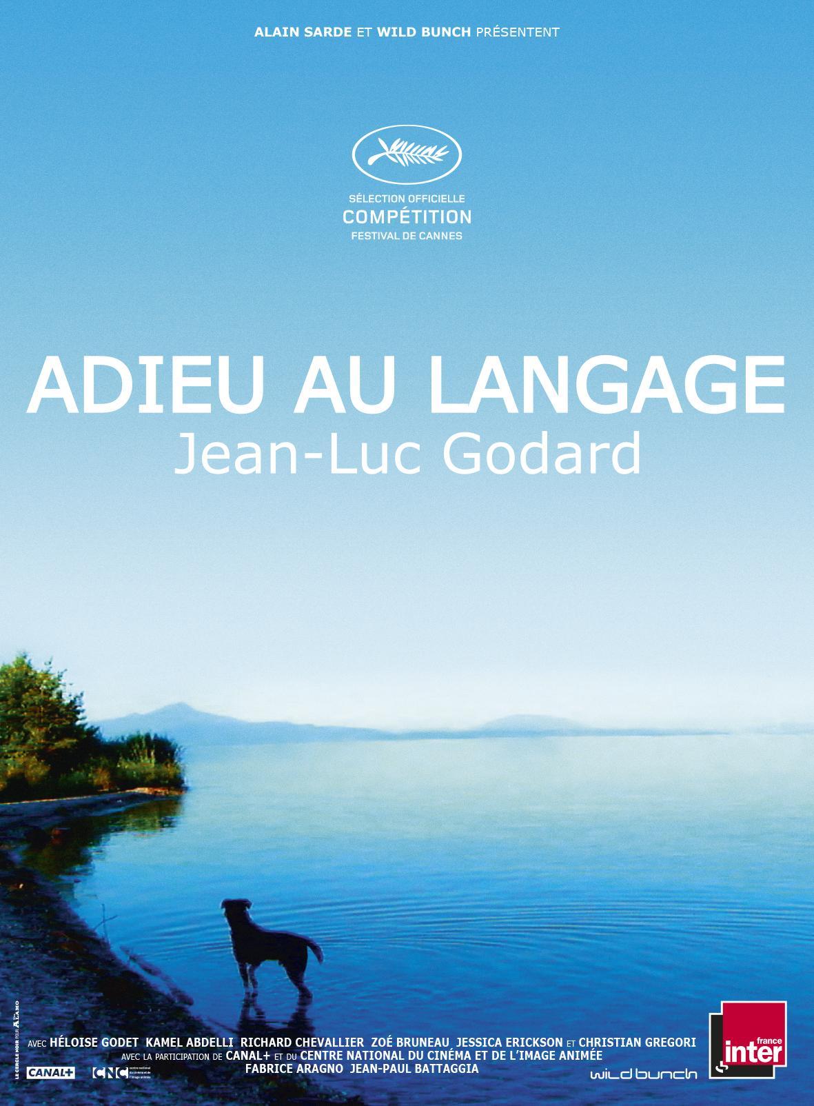 Goodbye to language: la locandina internazionale