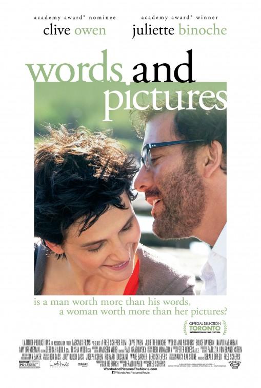 Words and Pictures: la nuova locandina