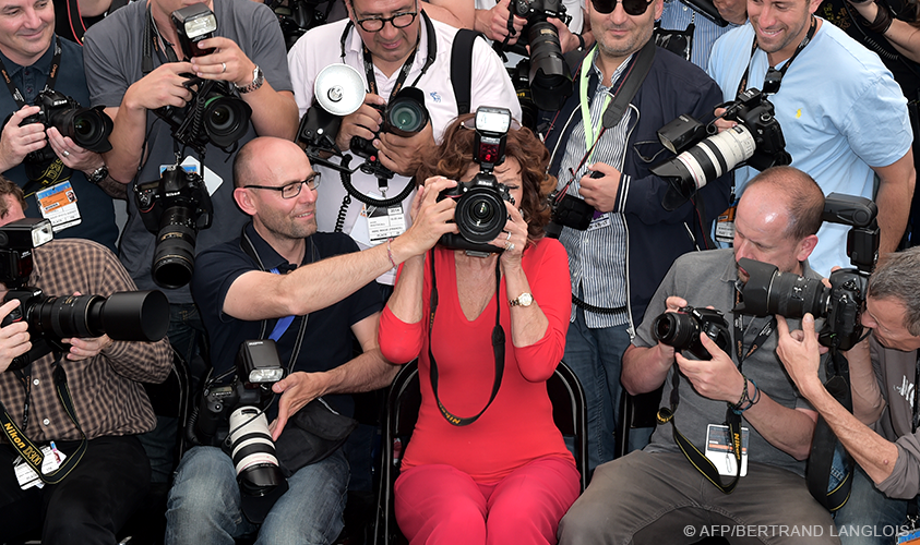 Sophia Loren a Cannes 2014