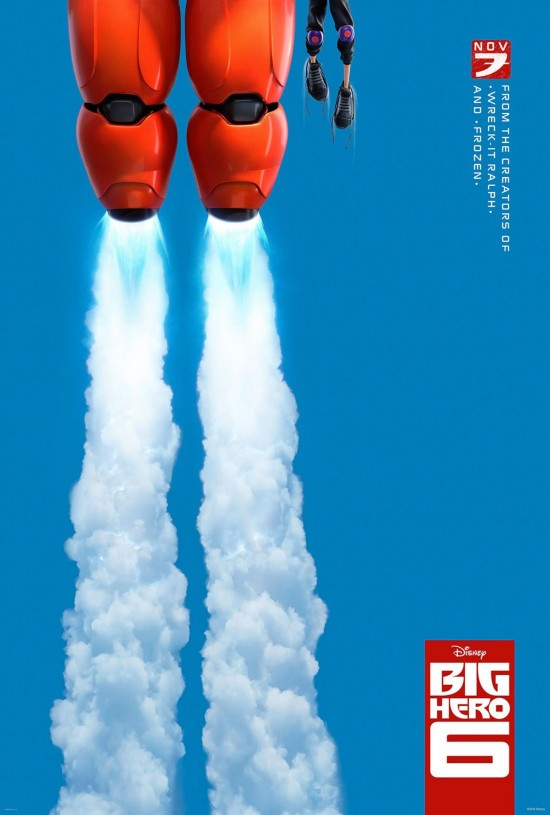 Big Hero 6: il teaser poster