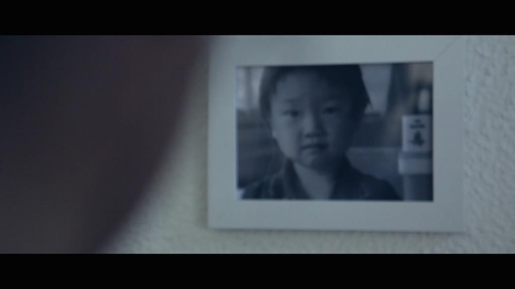 Tellurica; la foto di un bambino