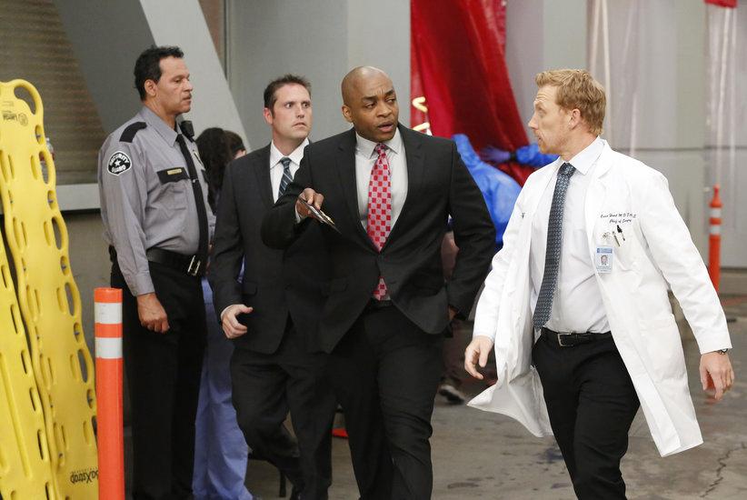 Grey's Anatomy: Kevin McKidd e Rick Worthy nel'episodio Fear (of the Unknown)
