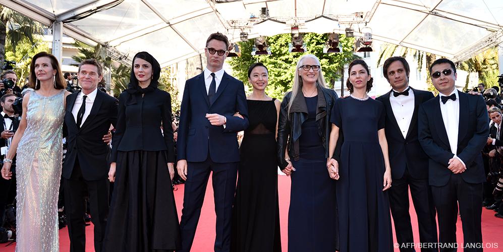 La giuria del Festival di Cannes 2014, nella serata finale