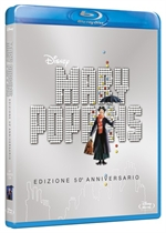 La cover del blu-ray di Mary Poppins