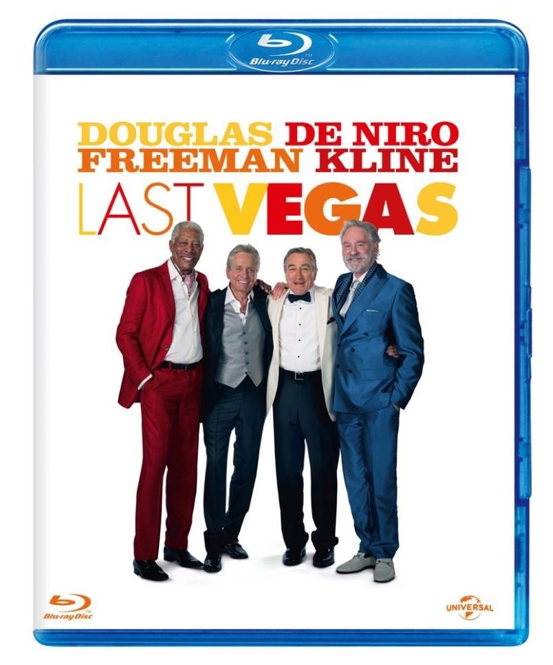 La cover del blu-ray di Last Vegas