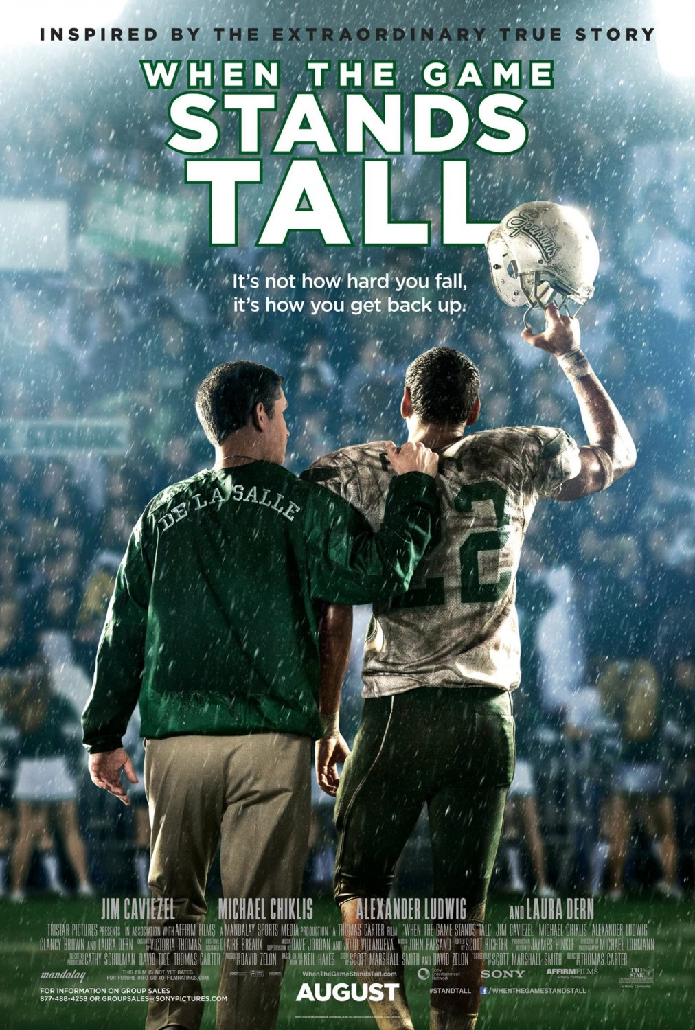 When the Game Stands Tall: nuovo poster
