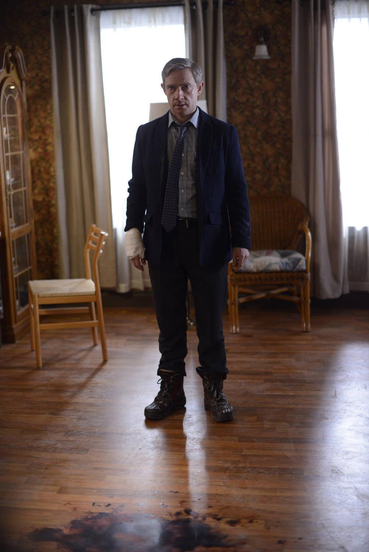 Fargo: Martin Freeman nell'episodio Who Shaves the Barber?