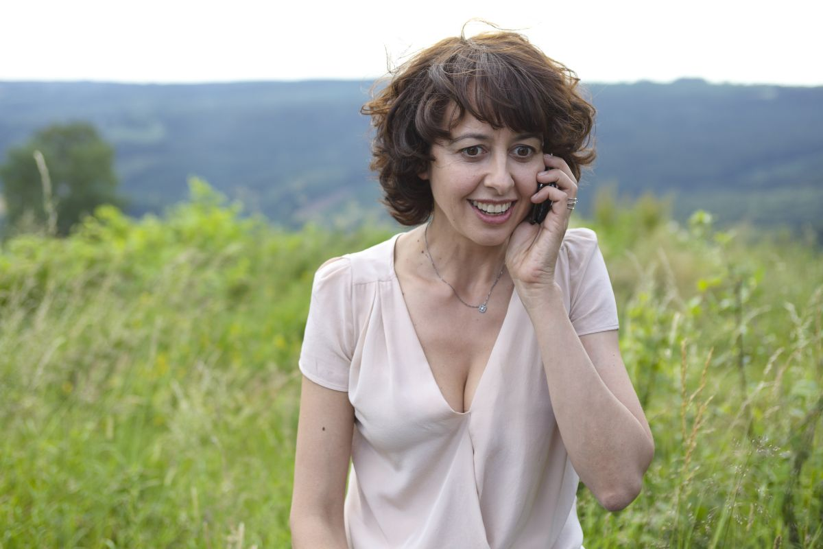 Valérie Bonneton in una scena di Tutta colpa del vulcano