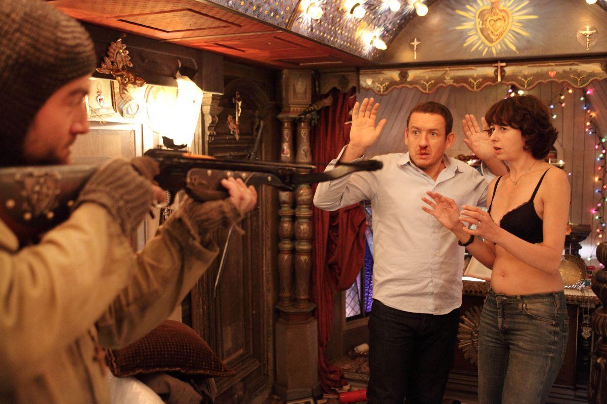 Tutta colpa del vulcano: Valérie Bonneton e Dany Boon in una concitata scena del film