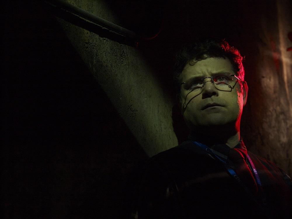 The Strain: un'immagine promozionale di Sean Astin