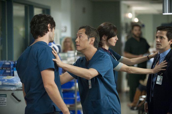 The Night Shift: Eoin Macken, Ken Leung nell'episodio Second Chances