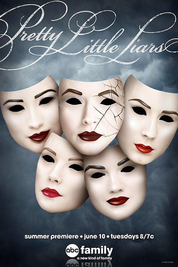Pretty Little Liars: il primo poster per la quinta stagione della serie