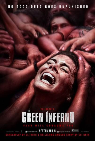 The Green Inferno: la locandina del film