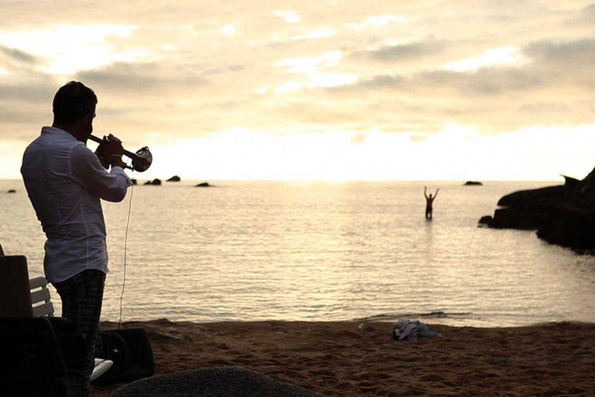 365 - Paolo Fresu, il tempo di un viaggio: una poetica scena del film