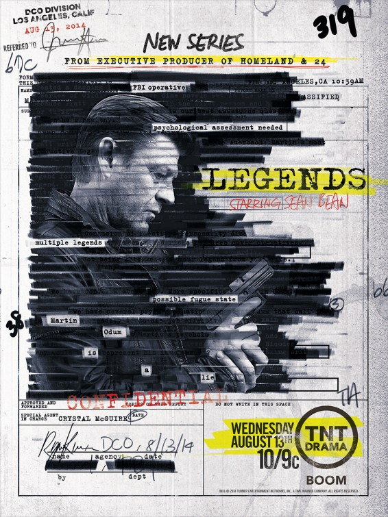 Legends: un manifesto per la mini-serie con Sean Bean