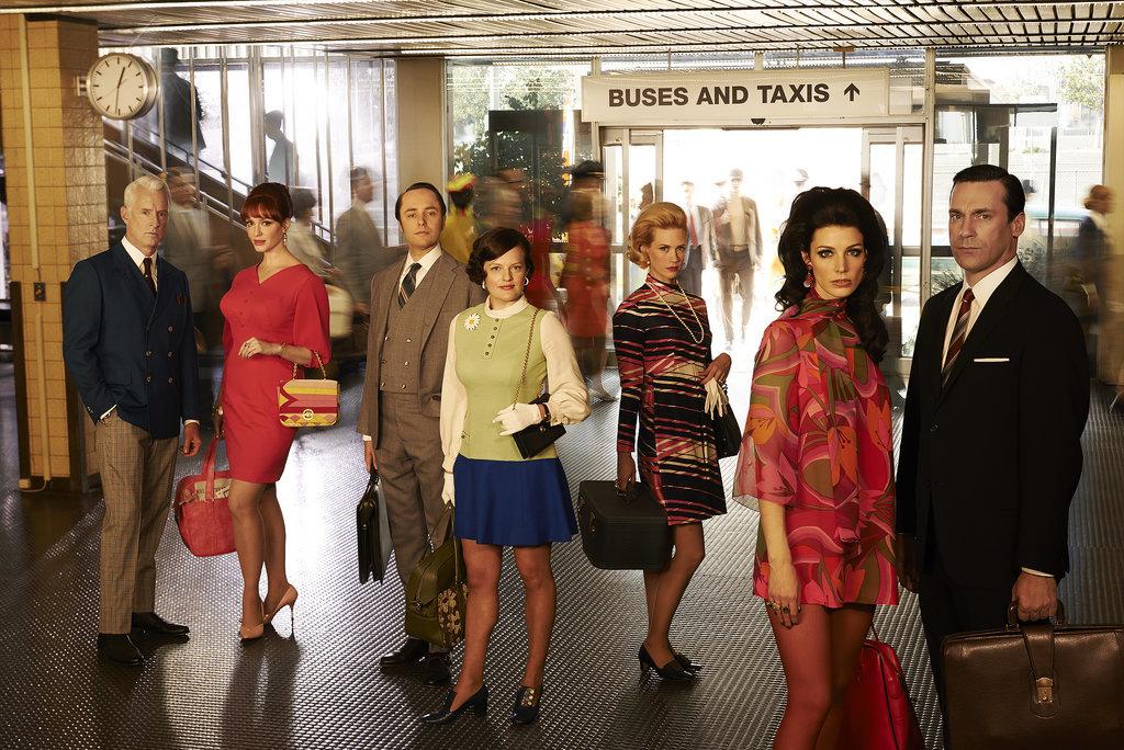 Mad Men: il cast in una foto promozionale per la settima stagione