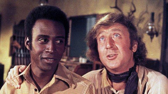 Cleavon Little e Gene Wilder in una scena di Mezzogiorno e mezzo di fuoco