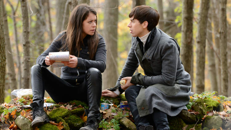 Orphan Black: Tatiana Maslany nell'episodio Mingling Its Own Nature With It