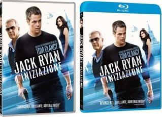 Le cover di DVD e Blu-ray di Jack Ryan - L'iniziazione