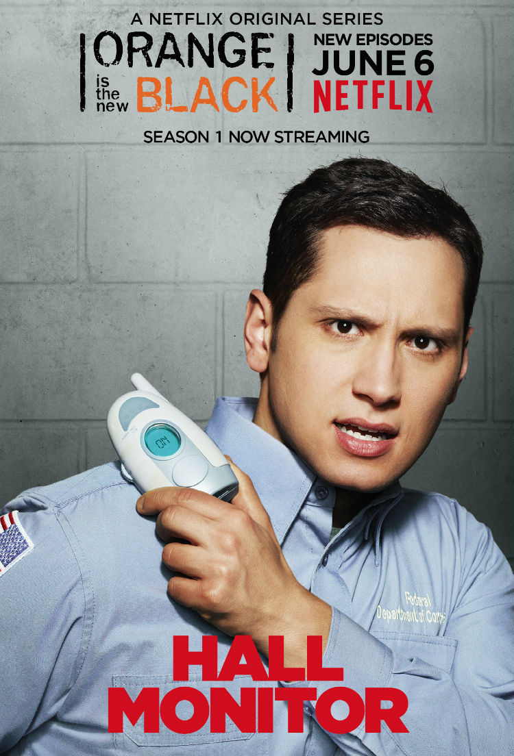 Orange Is the New Black: character poster per Matt McGorry