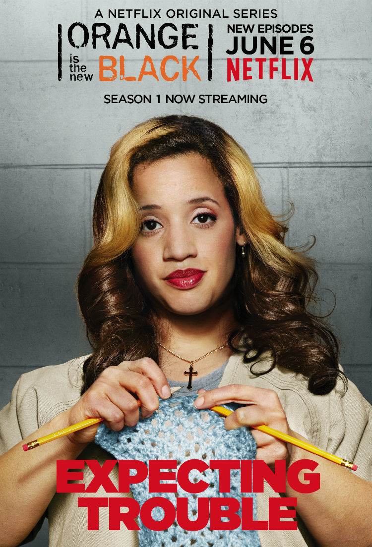 Orange Is the New Black: character poster per Dascha Polanco