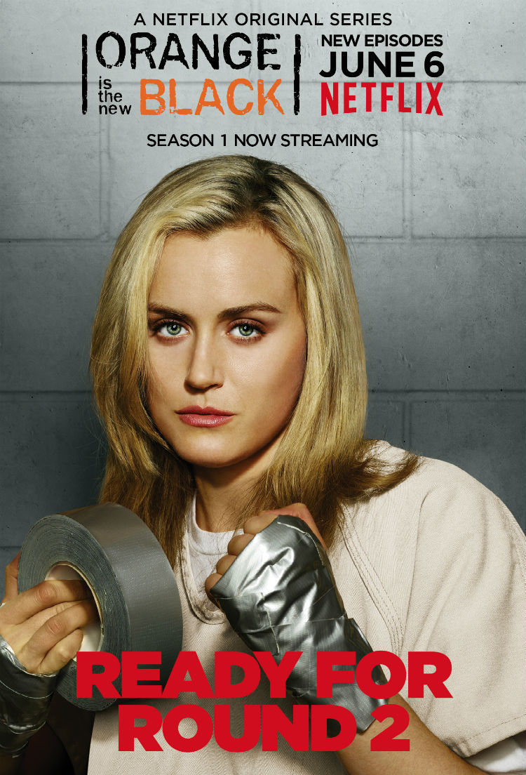 Orange Is the New Black: character poster per Taylor Schilling